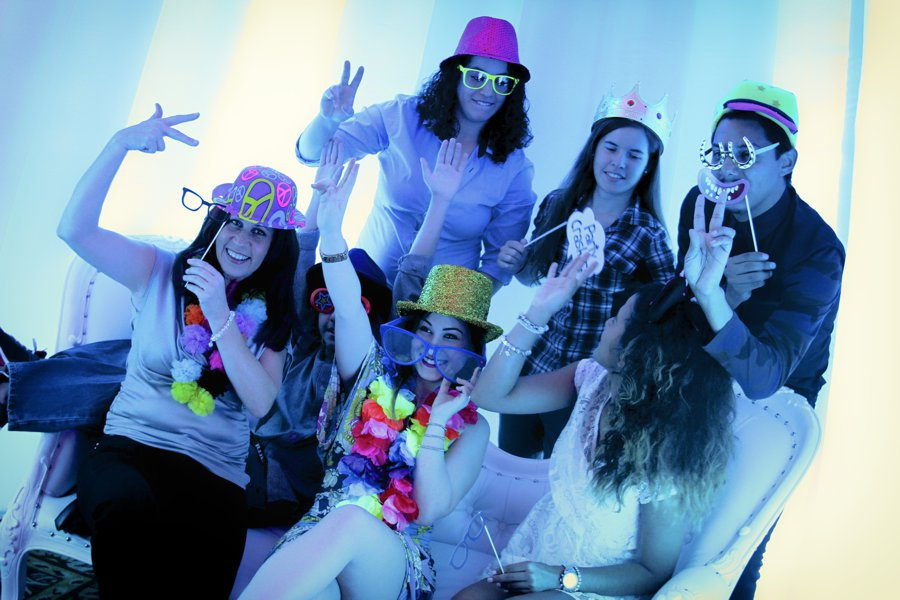 Wow Your Guests With A New LED Light Color Changing Photo Booth
